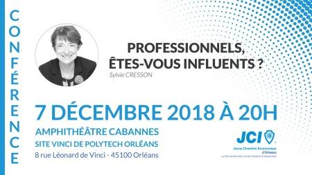 Sylvie Cresson conférence 7 décembre 2018
